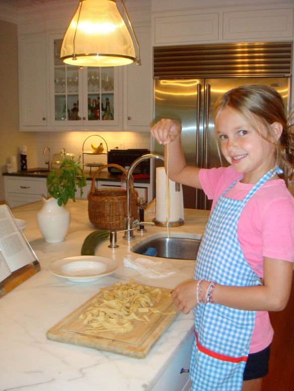 "Leah, ""After"" (making homemade pasta)"