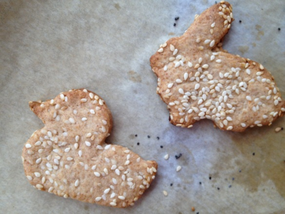 shaped crackers