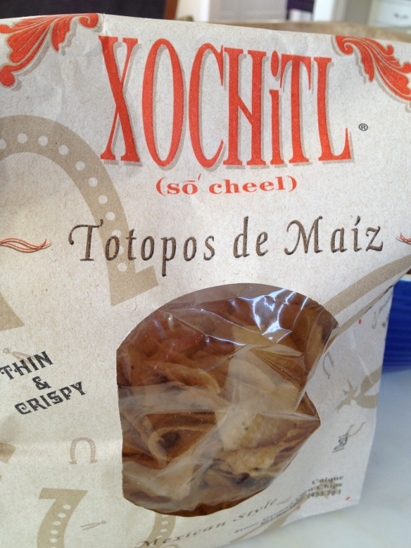 My favorite tortilla chips: extra thin and crispy.