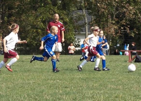 Sophie soccer