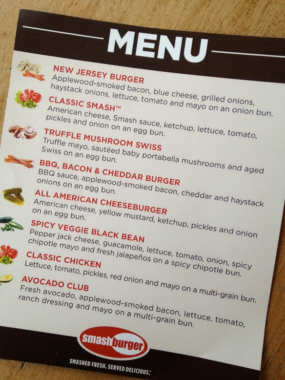 Sampling menu from the event. Good thing I skipped lunch.