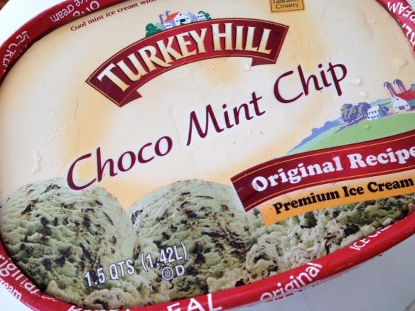 Turkey Hill choco mint