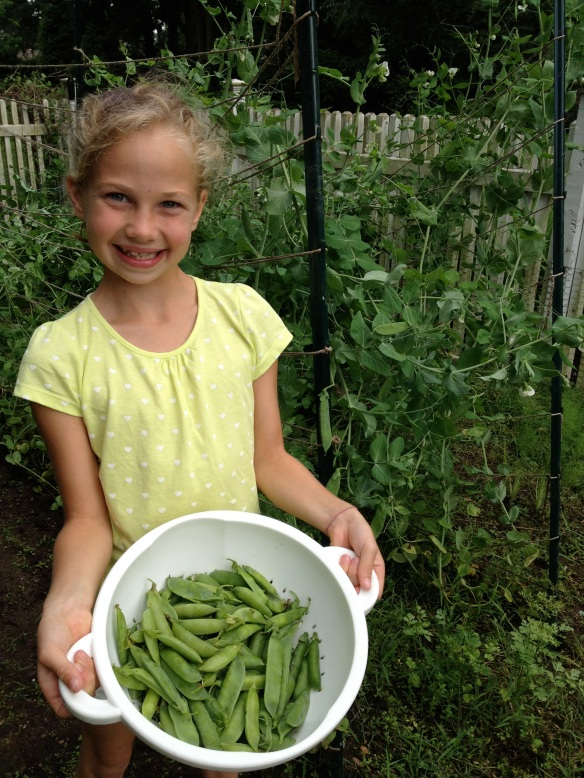 Home Grown Peas