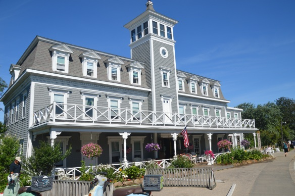 The Manisses Hotel and Restaurant - home of a very delicious swordfish with lobster mashed potatoes.