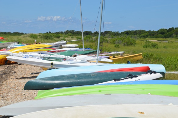 Sailboats at Andy's Way.