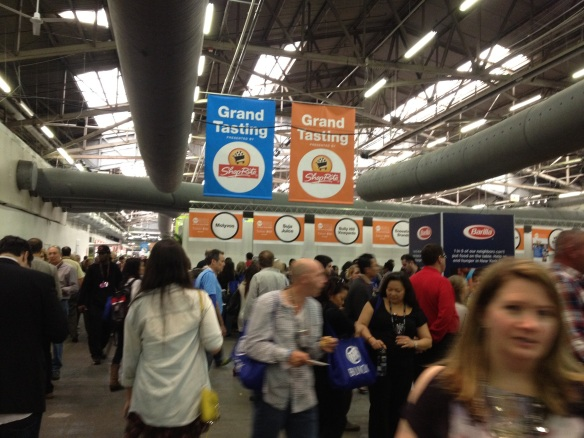 Pier 94 was packed with sponsors, vendors, chefs, foodies and freebies.