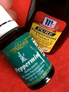 peppermint oil vs extract