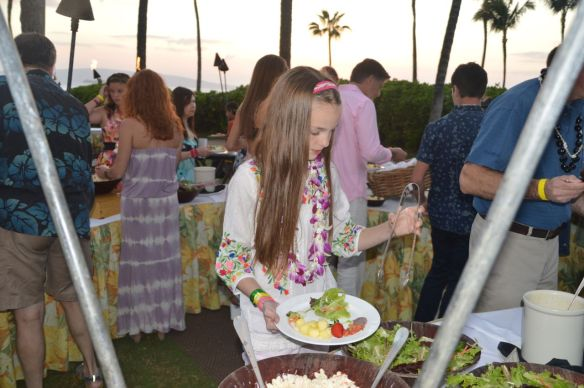 The Grand Luau at Honuaula was conveniently located at our hotel. Touristy but fun! Buy discount tickets at Costco.