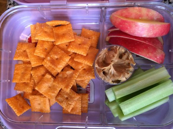 YumBox with Cheez-Its