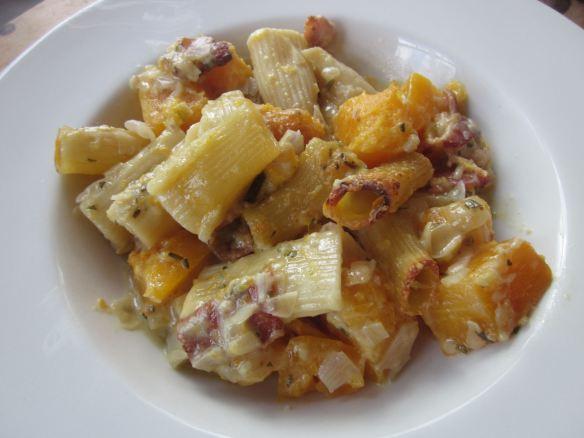 butternut squash rigatoni serving