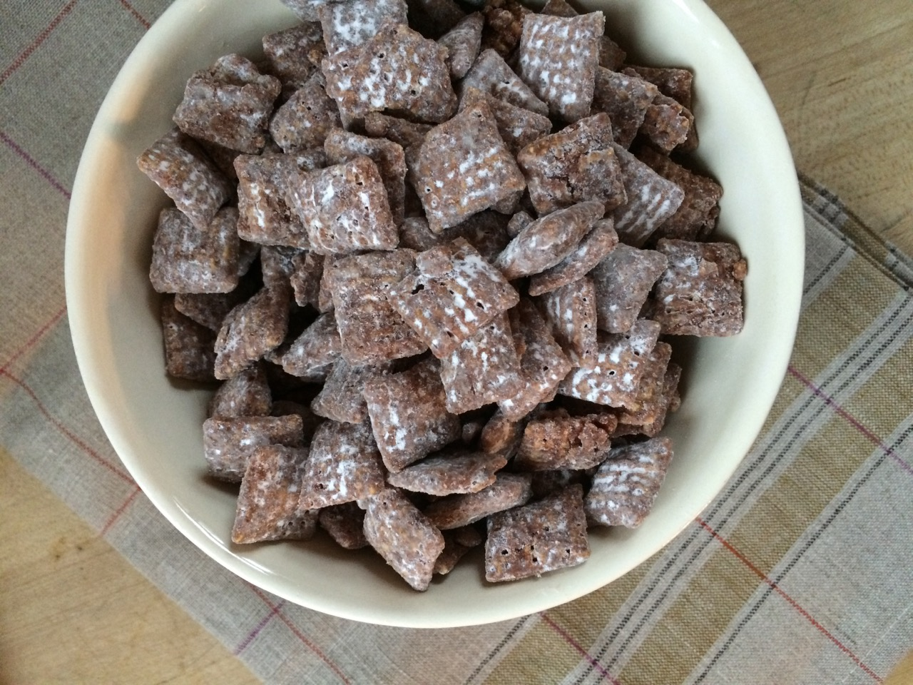 Chocolate Chex Mix Buddies